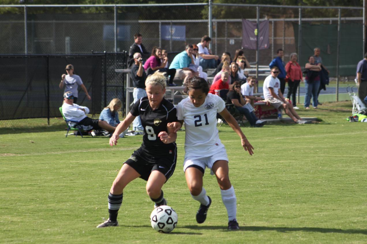 Falcons' explosive second half blanks Coker, 4-0