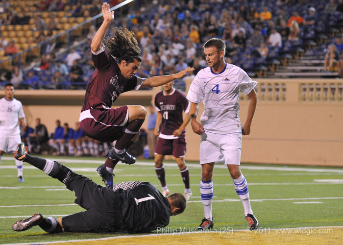No. 25 Santa Clara and SJSU Draw 1-1 Thursday Night at Spartan Stadium