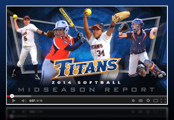 2014 Midseason Report: Softball