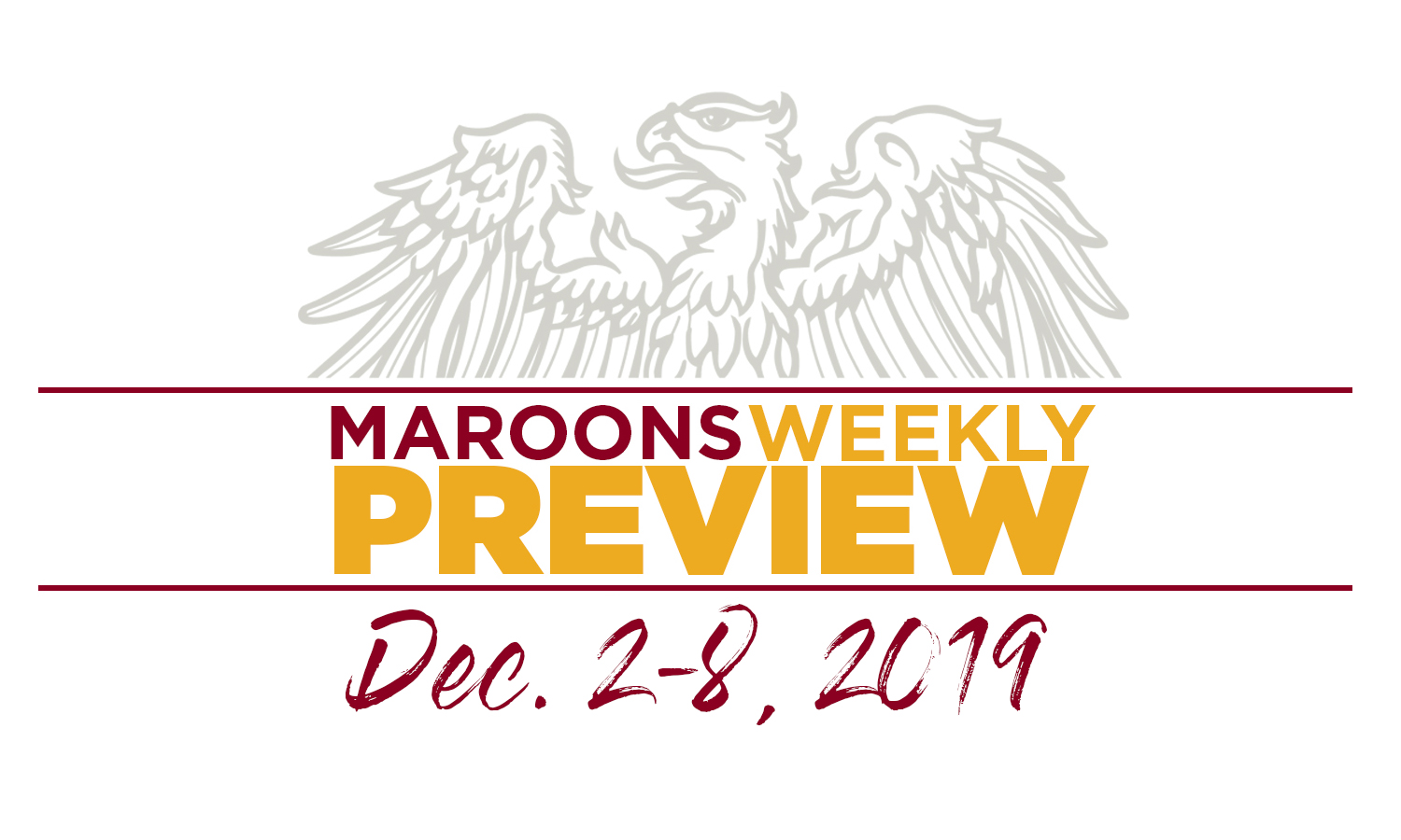 UChicago Athletics Preview: December 2-8