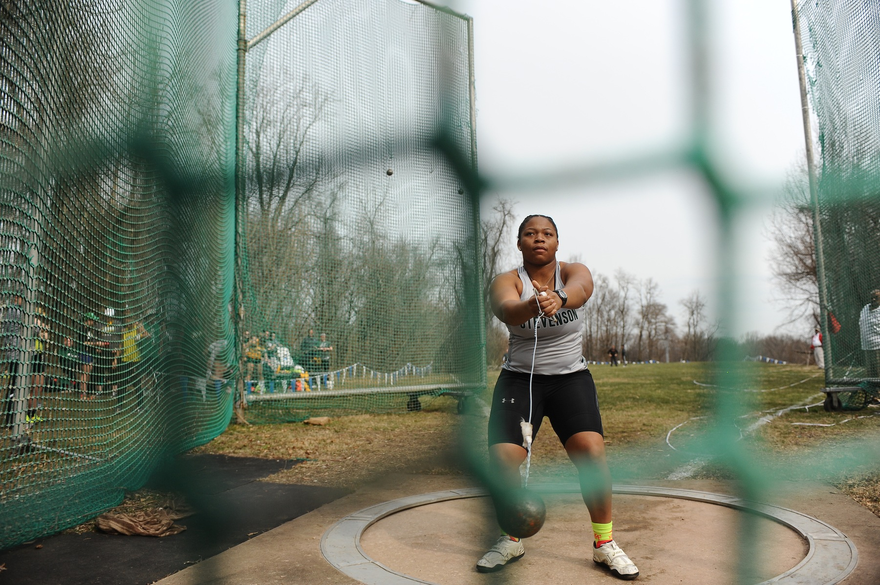 Ani Shatters School Record in Shot Put at Towson Invitational