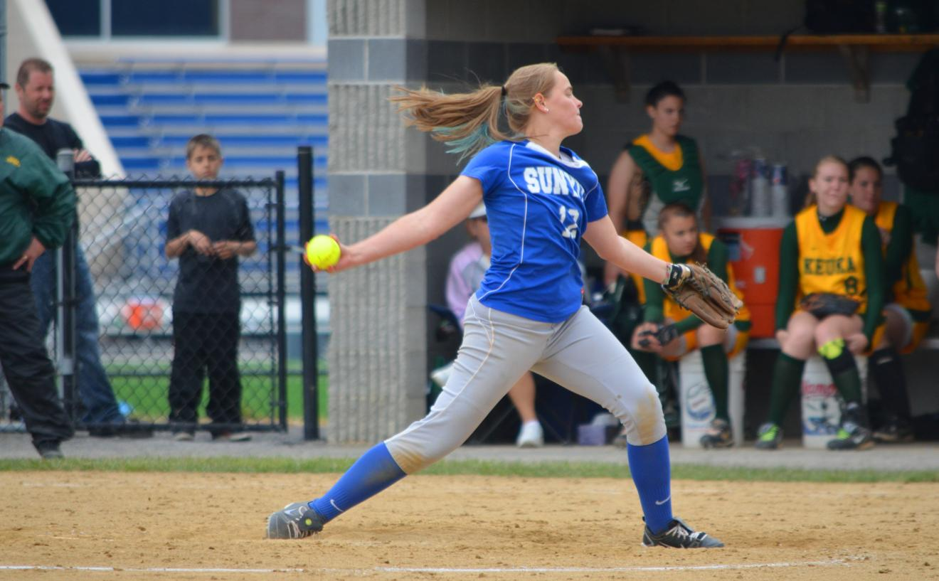 Wildcats Pitch Their Way to Sweep of Cobleskill