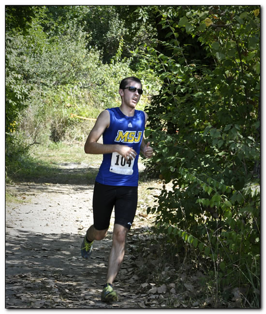 Lions' men's cross country team races in first match of 2014 season