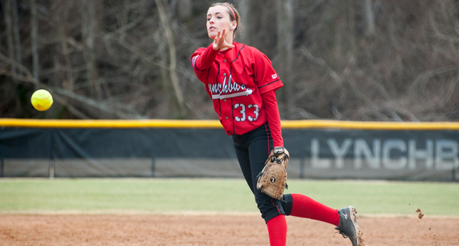Pitching Dominant as Lynchburg Softball Takes Two More at Salisbury Tournament