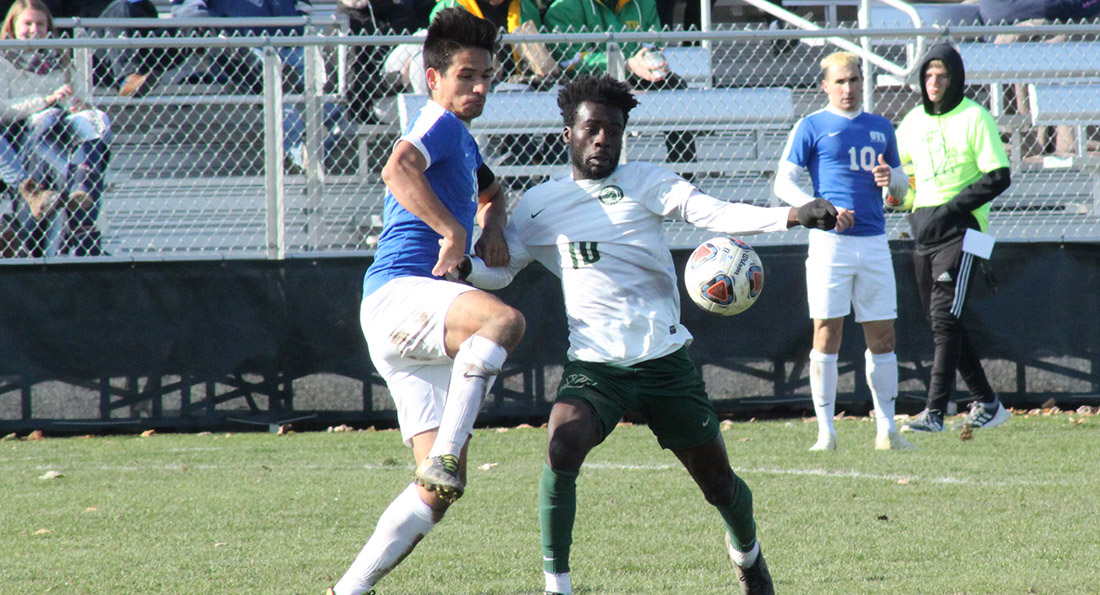 Tiffin University fell to Ohio Valley on penalty shots in the Second Round of the Midwest Regional.