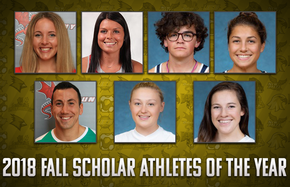 SUNYAC announces 2018 Fall Scholar Athlete of the Year honorees