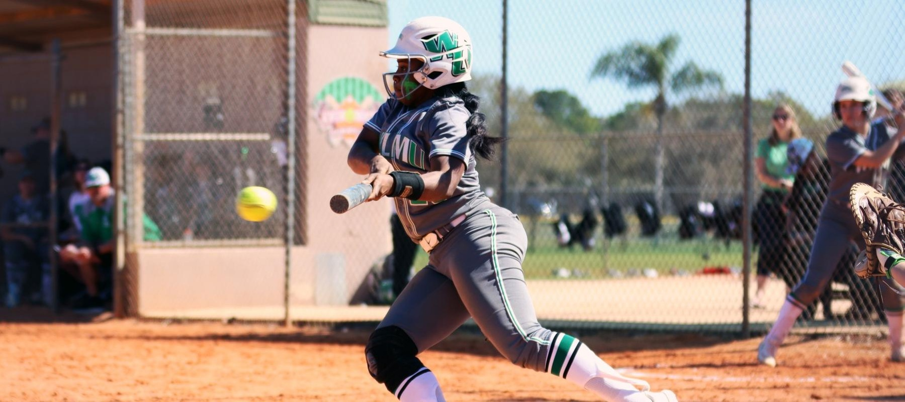 Copyright 2020. Wilmington University. All rights reserved. Photo by Mary Kate Rumbaugh. March 1, 2020 vs. Grand Valley State at Winter Haven Diamond Plex in Winter Haven, Florida.