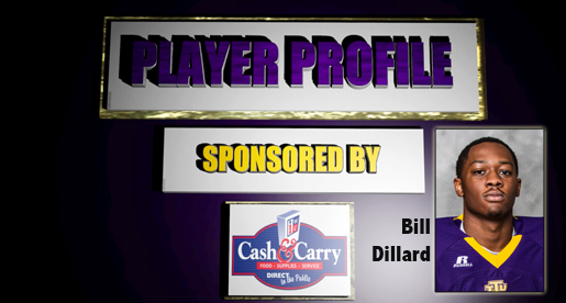 Watson Brown Show Player Profile segment avaliable: Bill Dillard