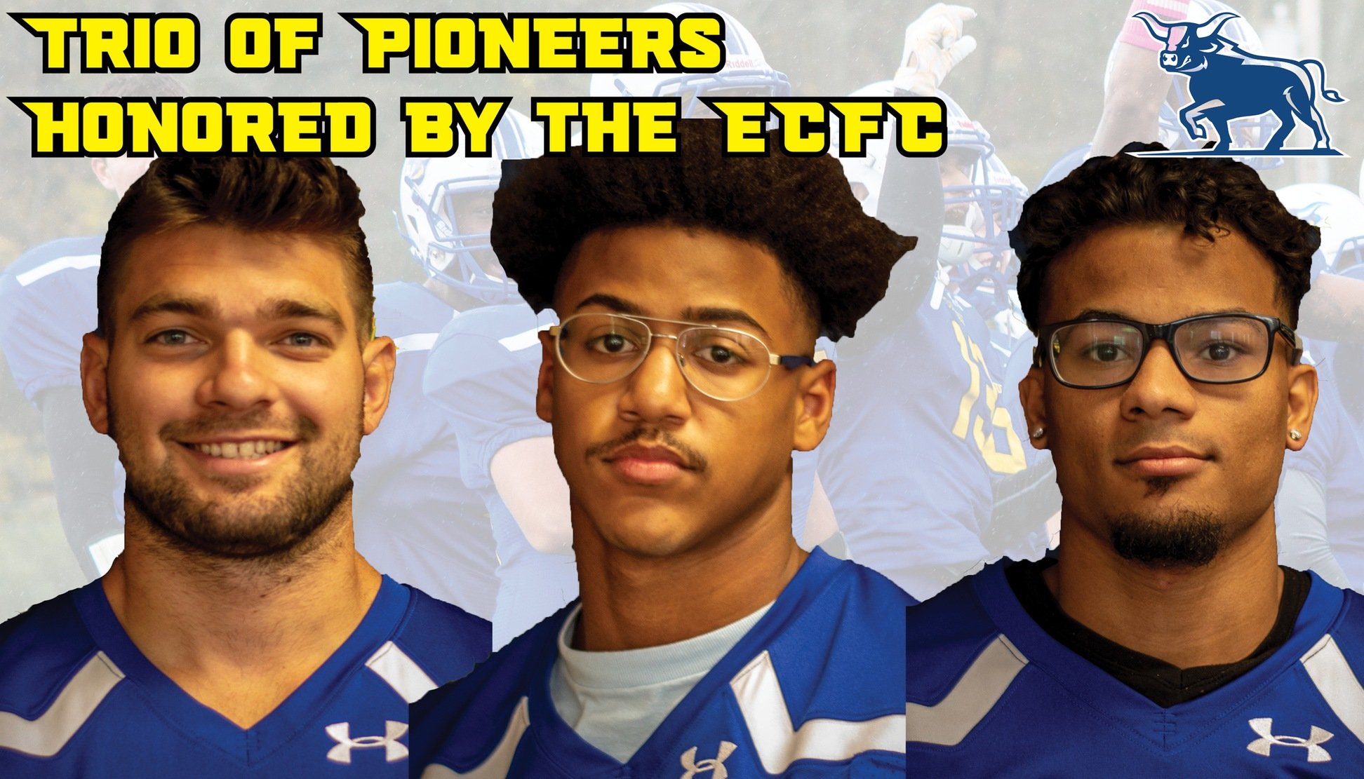 Lauretti, Clark, and Vargas honored by ECFC