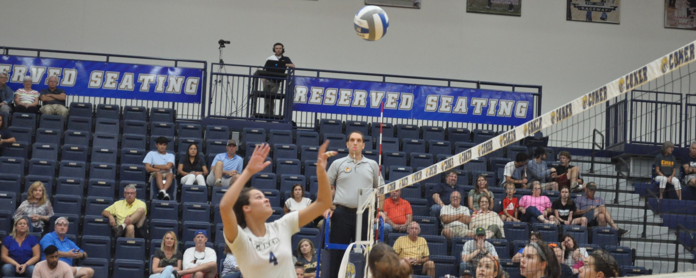 Volleyball Drops Conference Tilt at Lenoir-Rhyne Friday Night