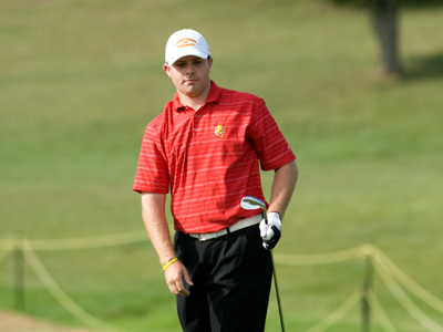 Craig Burrows carded a team-best 154 score to tie for seventh place.  (Photo by Ed Hyde)