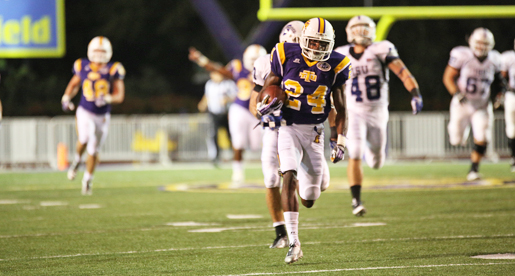 Davis directs game-winning drive, Golden Eagles pull out one-point victory