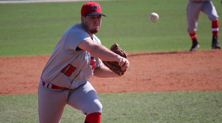 Baseball Drops Two to Nichols Monday