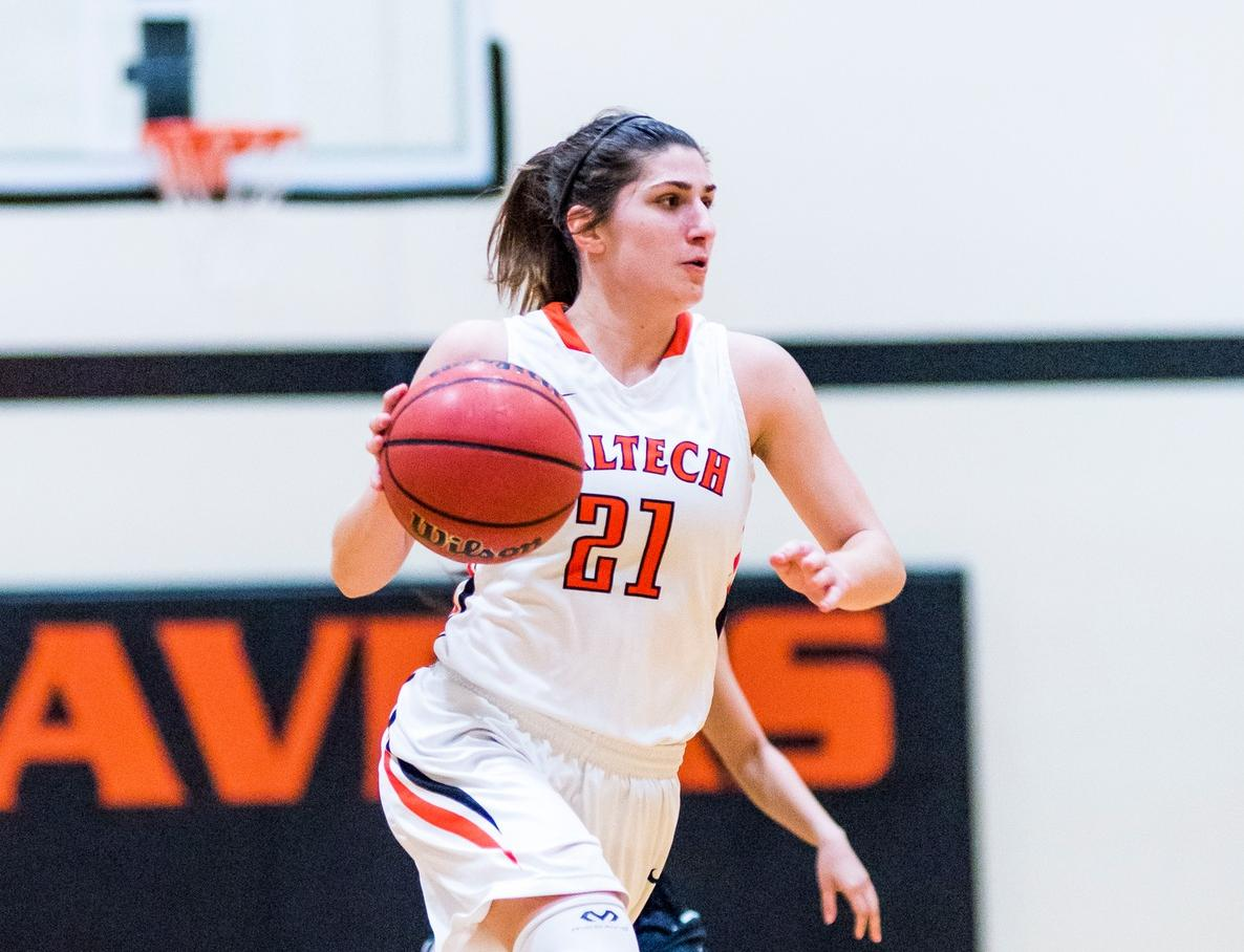 Women's Basketball Closes SCIAC Schedule with Historic Third Win