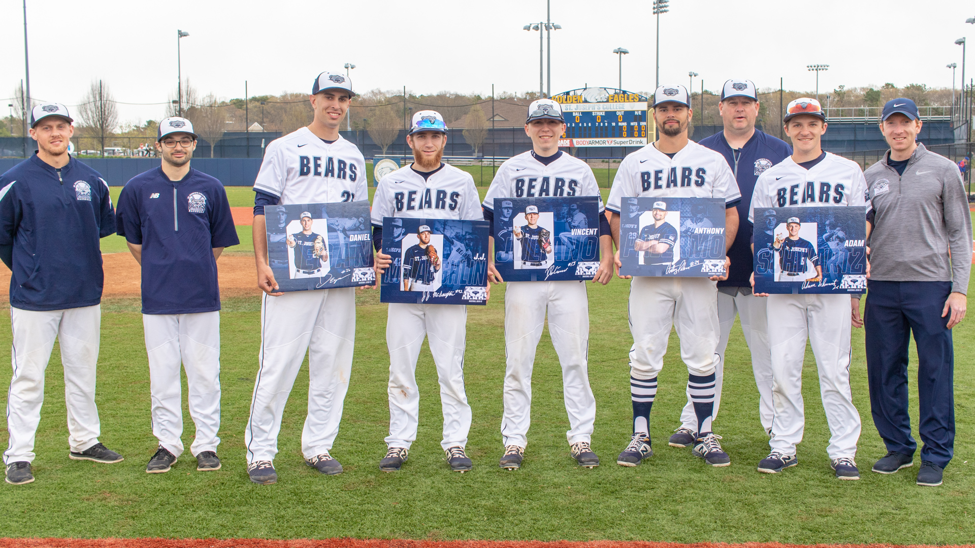 Baseball Celebrates Senior Day Hosting Merchant Marine