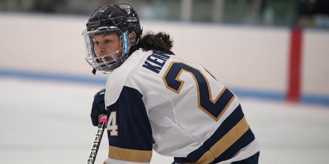 Women's Hockey's NEHC Play Starts at Plymouth State, Against Castleton