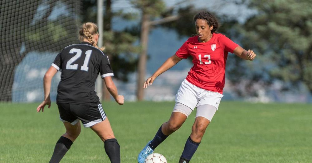 Women's soccer drops road match to Roberts Wesleyan, 1-5