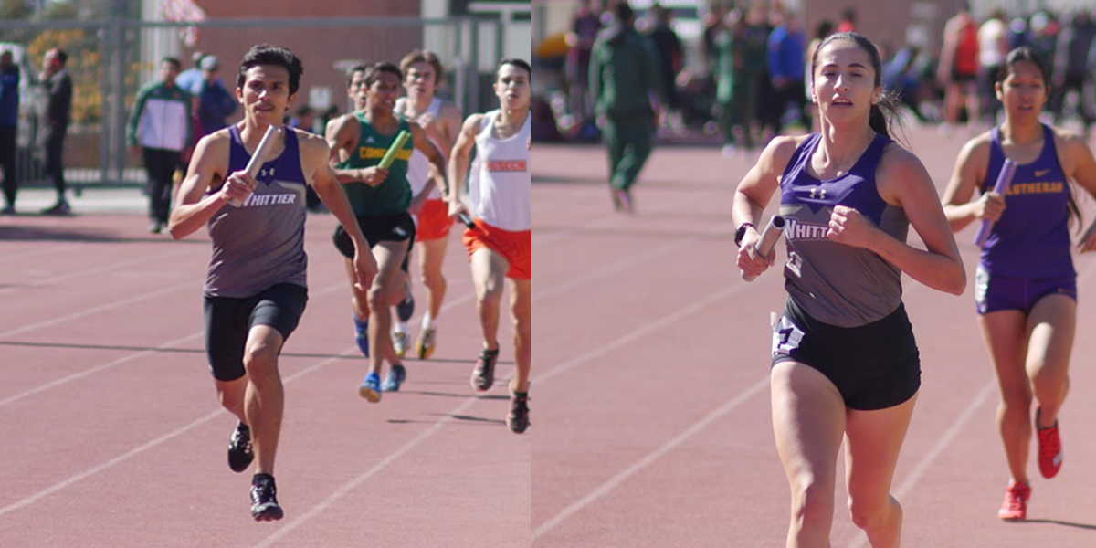 Iribe and Sandoval break school records at Oxy Distance Carnival