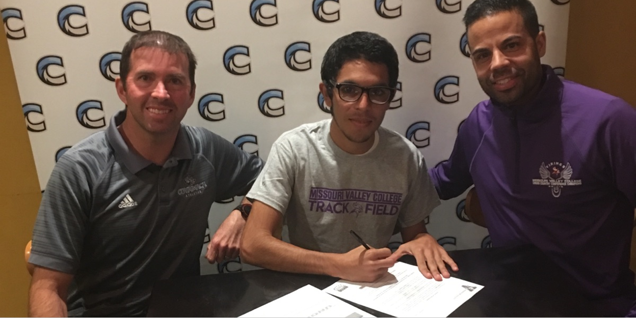 Steven Lepe (Men's Cross Country) Signs with Missouri Valley College