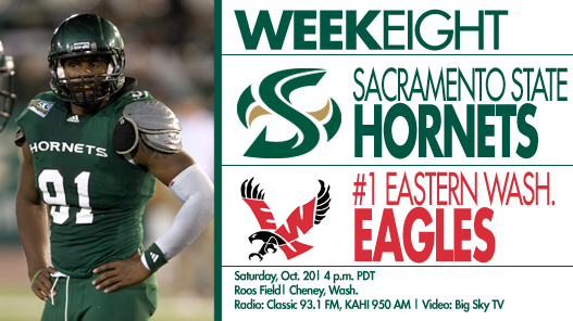 Football Travels to Top-Ranked Eastern Washington on Saturday
