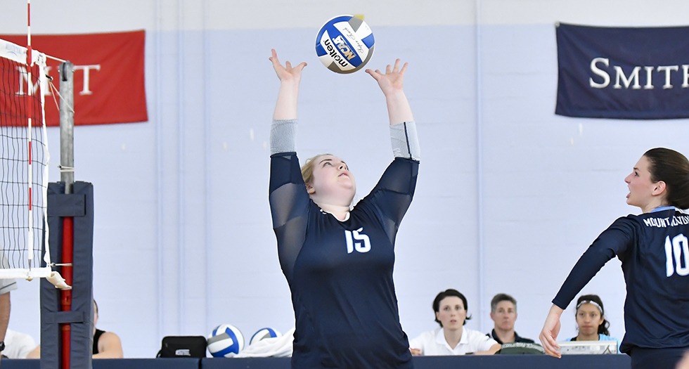 Volleyball Shoulders Tough Loss in NEWMAC Opener at Babson