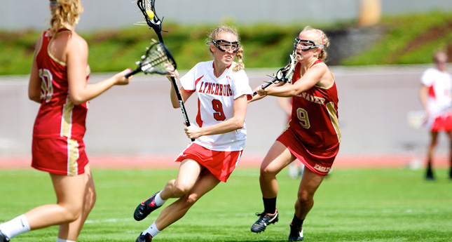 LC Women's Lax Defeats Bridgewater College 16-7