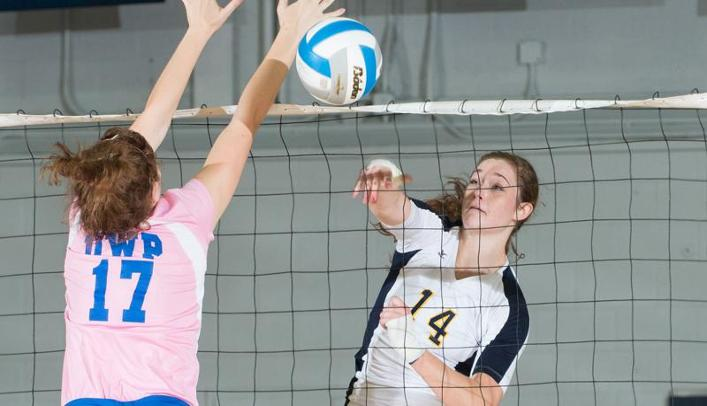 Women's Volleyball Splits at Home Tournament