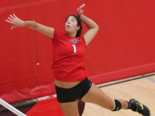 Cardinal Volleyball Sweeps Weekend Action, Juelle Named to All-Tournament Team