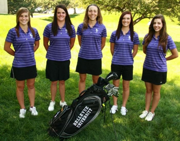 2011-12 Women's Golf Team Photo