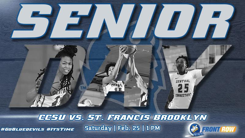 Women's Basketball Meets St. Francis Brooklyn On Senior Day