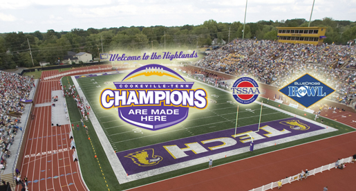 Champions Are Made Here: Tucker Stadium to host TSSAA through 2016