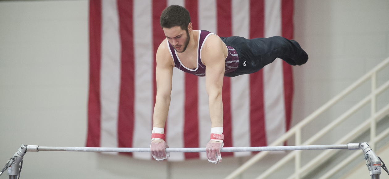 Four Represent Men's Gymnastics in Second Day of West Point Open