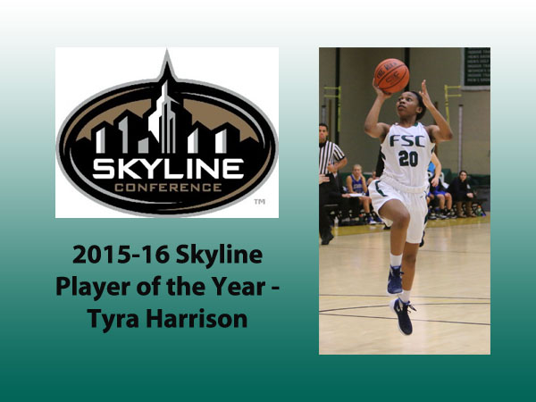Harrison Headlines Conference Women's Basketball Awards