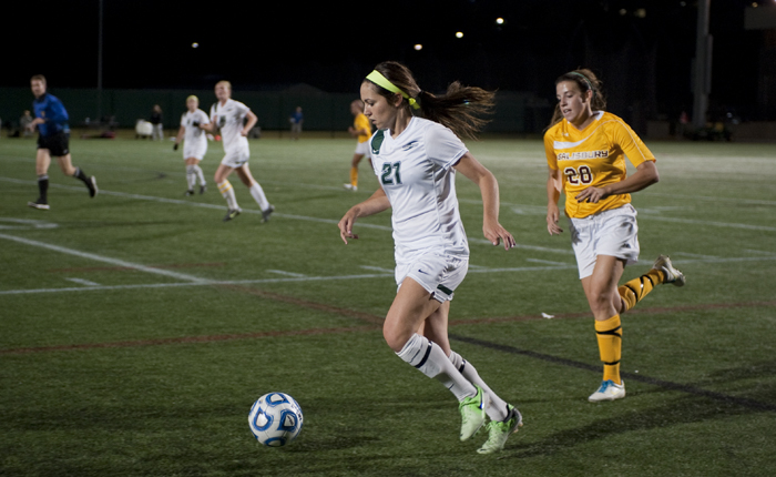 Alexis Siejack Scores Lone Goal in the Mustangs 2-1 Loss to Rival Salisbury
