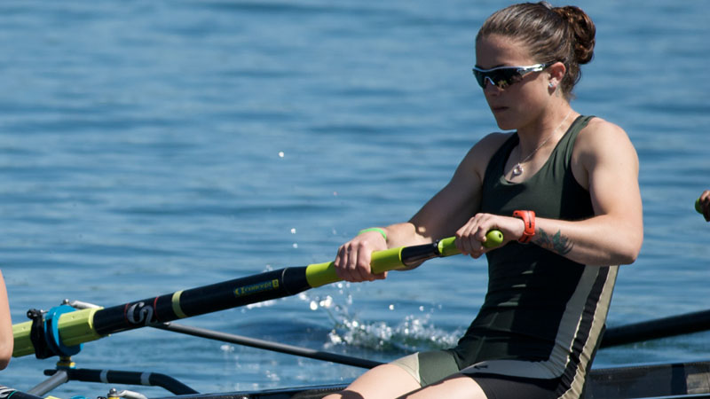 ROWING VICTORIOUS IN FIVE RACES AT THE SEASON-OPENING SACRAMENTO STATE INVITATIONAL