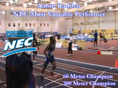 Radden Named Most Valuable Performer as Blue Devils Place Fourth at NEC Championships