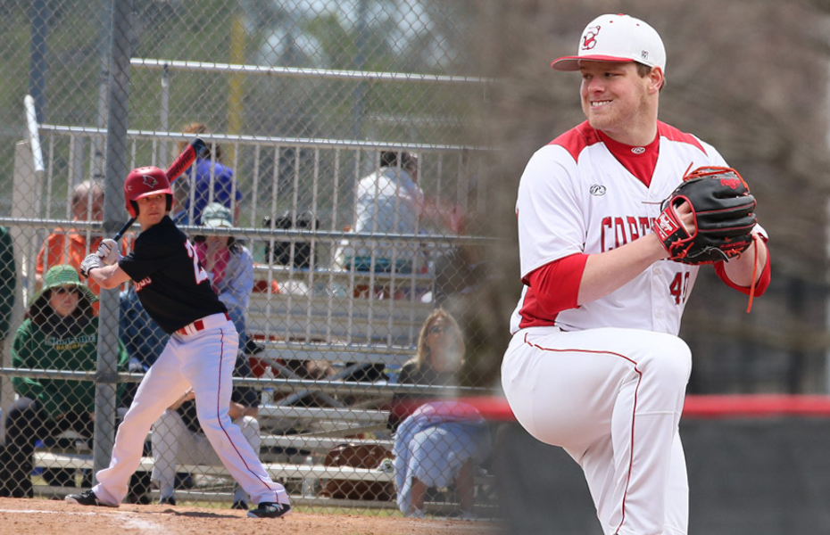 Plattsburgh and Cortland players selected as SUNYAC Athlete and Pitcher of the Week