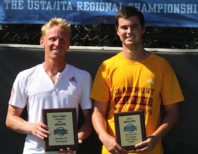 Lane Wins Singles - Stags Dominate Regional