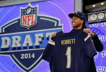 Former Bear Cub Verrett Goes in First Round of the NFL Draft