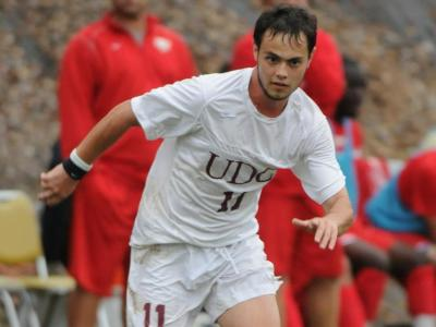 UDC Men's Soccer Battles Hard But Falls To Millersville University 3-2.