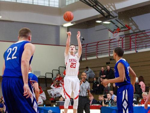 Limberiou, Fonville Shoot Cardinals to 87-61 Victory