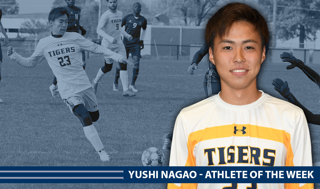 Yushi Nagao Athlete of the Week