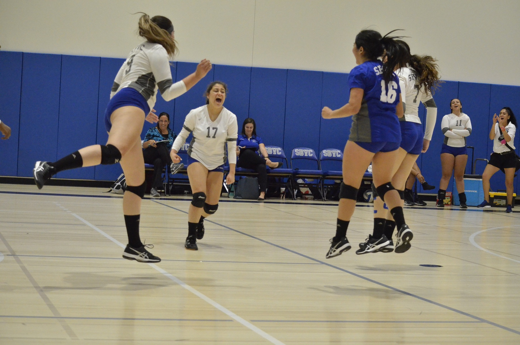 Team Effort Leads Volleyball Team to Victory