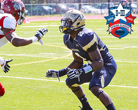 Gallaudet football standout Tony Tatum selected to play in D3 Senior Classic