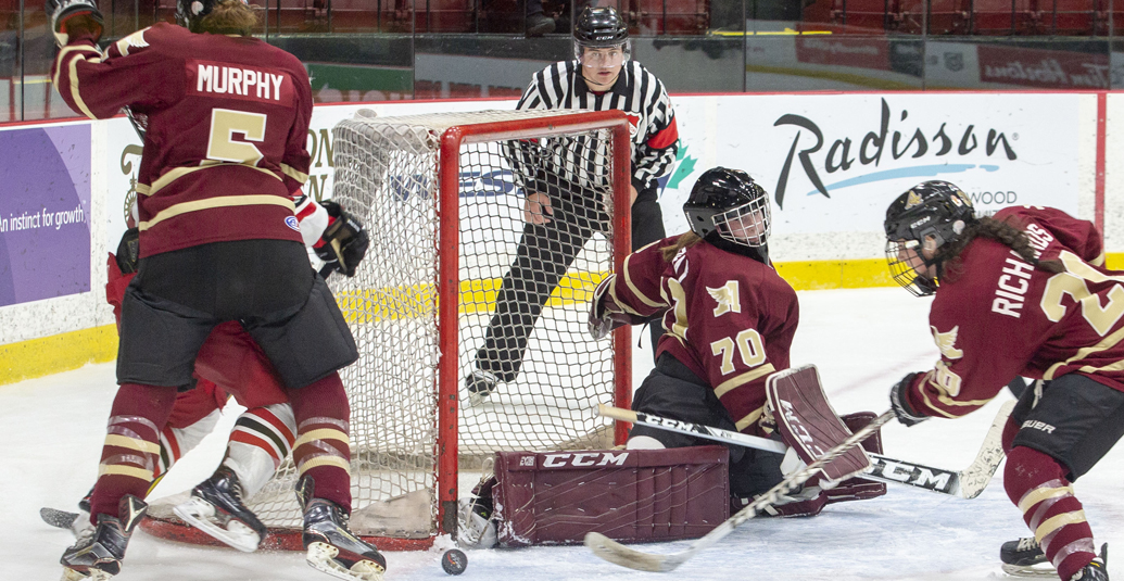 Mounties earn double OT victory over UNB