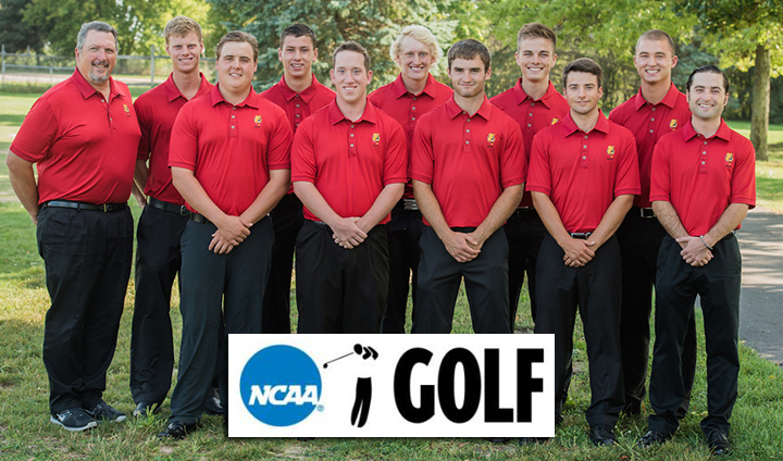 Ferris State Men's Golf Opens NCAA Regional Only Five Strokes Out Of First Place