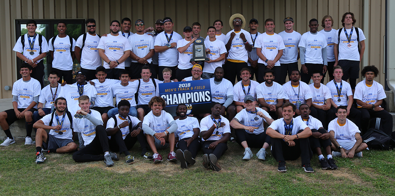 Texas Lutheran Repeats as SCAC Men's Track and Field Champions