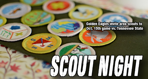 "Tech to host ""Scout Night"" October 15 at football game vs. Tennessee State"