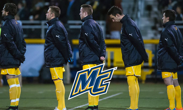 Merrimack Men's Soccer Donates Uniforms to Ugandan Youth Football Club Synergy FC