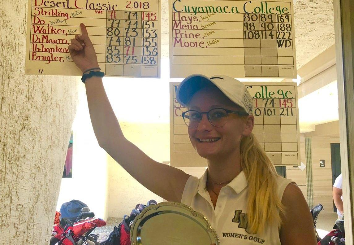 Women's golfer takes medalist honors at Desert Classic